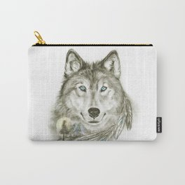 Sammy The Wolf Carry-All Pouch