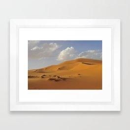 Sahara desert. Framed Art Print