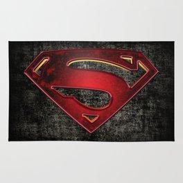 Superman Logo Rug