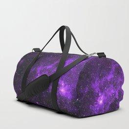 Ultraviolet Space Nebula Duffle Bag