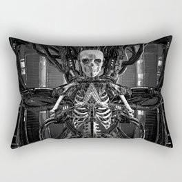 The Quantum Reaper Rectangular Pillow