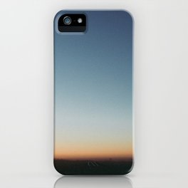 Sunrise in Hollywood iPhone Case