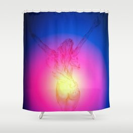 Eroticism Magic Shower Curtain