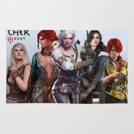 The Witcher's Women Rug