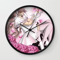 madoka Wall Clocks featuring Ultimate Madoka by BlacQueen