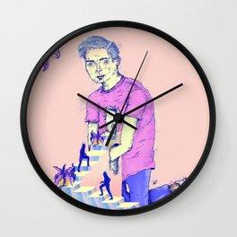 Hogar extraño Wall Clock