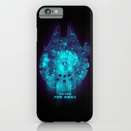 Go Far, Far Away iPhone Case