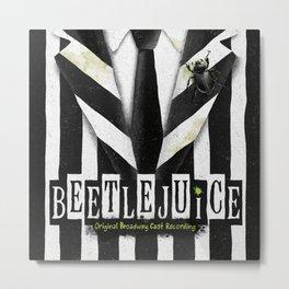 Beetlejuic Metal Print