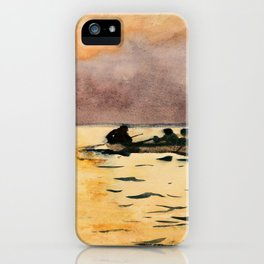 Rowing Home - Digital Remastered Edition iPhone Case
