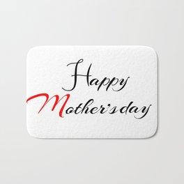 Mother's day Bath Mat