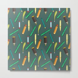 Stationary Pattern Metal Print