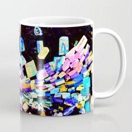 Strontium Platino Cyanide Crystals Coffee Mug