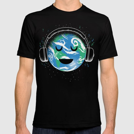 The whole planet loves music T-shirt