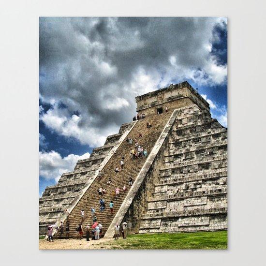 Messico e Nuvole Canvas Print