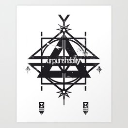 punishability Art Print