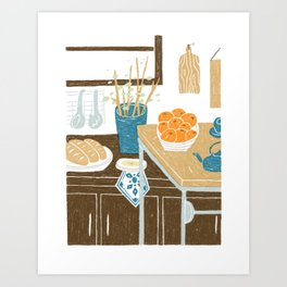 Morning Kitchen Art Print