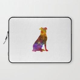 Beauceron in watercolor Laptop Sleeve