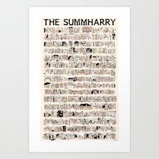 The Summharry Art Print