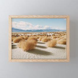 Paiute Land Framed Mini Art Print