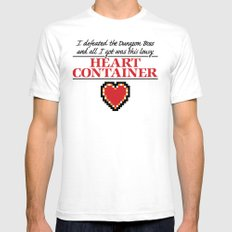 Lousy Heart Container SMALL White Mens Fitted Tee