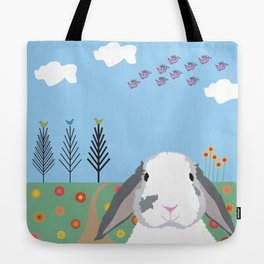 Jokke, The Rabbit Tote Bag