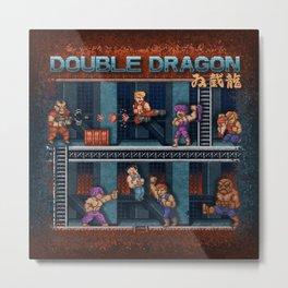 Dragon Double Metal Print