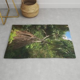 Screw Pine Trees Rug