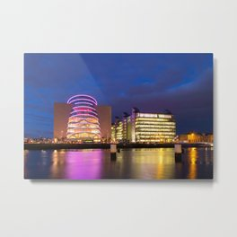 Modern Architecture in Dublin Metal Print