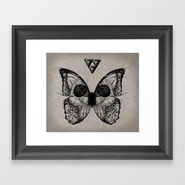 flydeath Framed Art Print