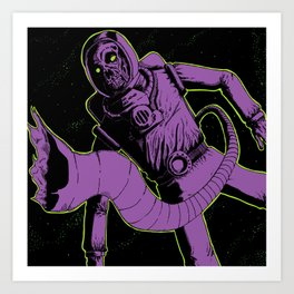 Floater Art Print