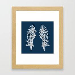 Midnight Flight Framed Art Print
