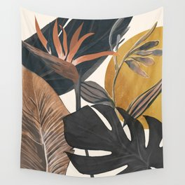Abstract Tropical Art III Wall Tapestry