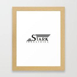 Stark Industries (Tee and Vinyl Cover) Framed Art Print