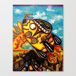 Rocket Bike Canvas Print