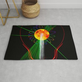 Light and water Rug