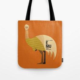 Hello Emu Tote Bag