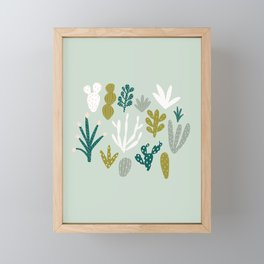 Succulent + Cacti Dreams Framed Mini Art Print