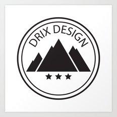 Drix Design Art Print