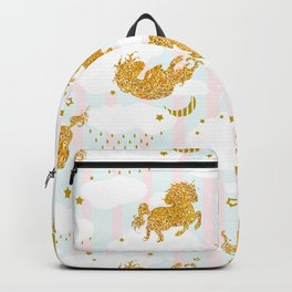 Unicorns sky dance Backpack