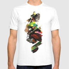 color study 1 Mens Fitted Tee MEDIUM White