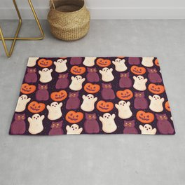 Halloween Marshmallows Rug