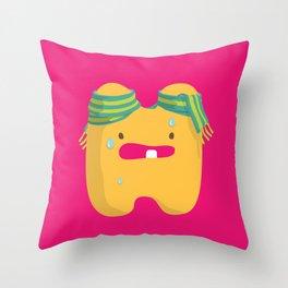 letter H Throw Pillow