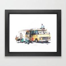 the GISHBUS Framed Art Print