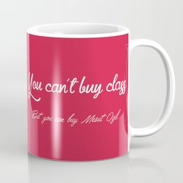 You cant buy class but you can buy Mesut Ozil Coffee Mug