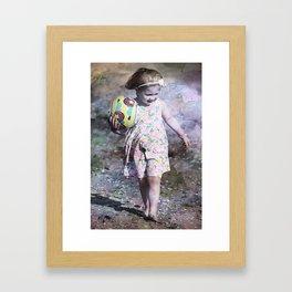 Memories of Happier Days Framed Art Print