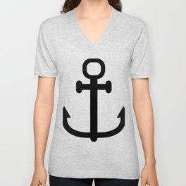 anchor Unisex V-Neck