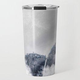 Fog and clouds Travel Mug