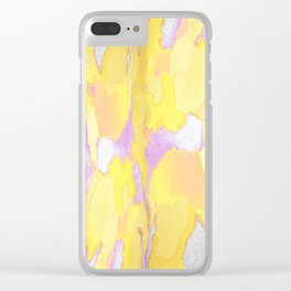 Yellow Spring Break Clear iPhone Case