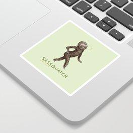 Sassquatch Sticker