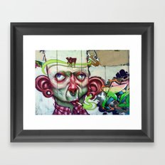 XA NOBLE Framed Art Print